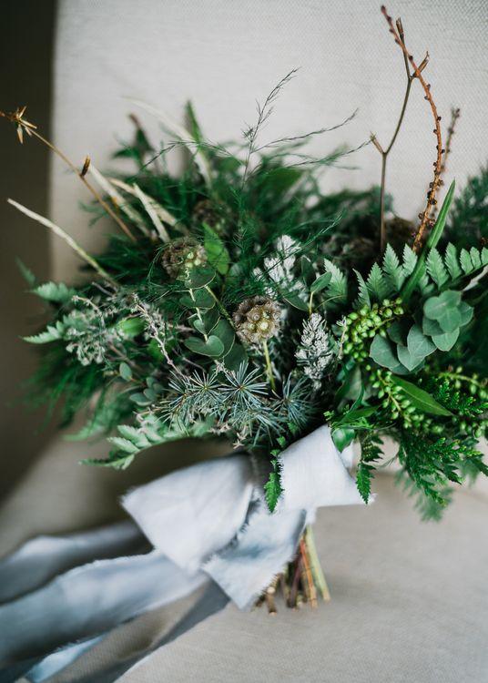 Foliage & Greenery Wedding Bouquet