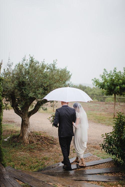 Bridal Outdoor Ceremony Entrance