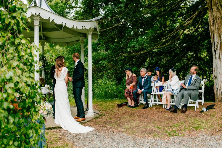 Relaxed Wedding At Preston Court With Outdoor Ceremony & Garden Games & Images From Epic Love Story
