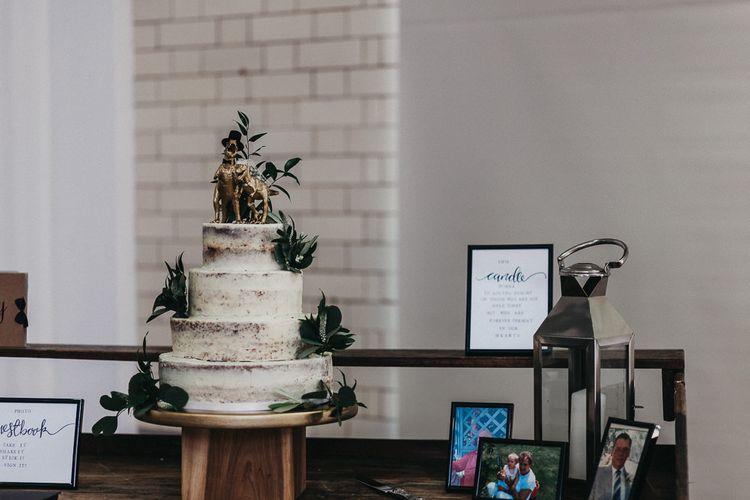 Wedding Cake | Wedding Reception Decor | Nottinghamshire Wedding with Spanish Vibes and Rewritten Bridesmaids Dresses | Kev Elkins Photography