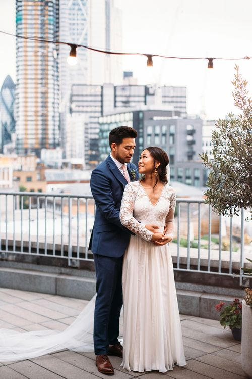 Ace Hotel London Rooftop Wedding // A Thing Like That Photography