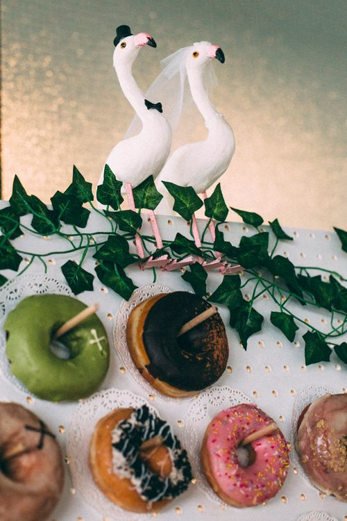 Doughnuts For Wedding // A Thing Like That Photography