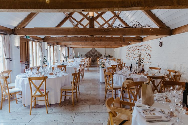 Curradine Barns Wedding Venue Reception