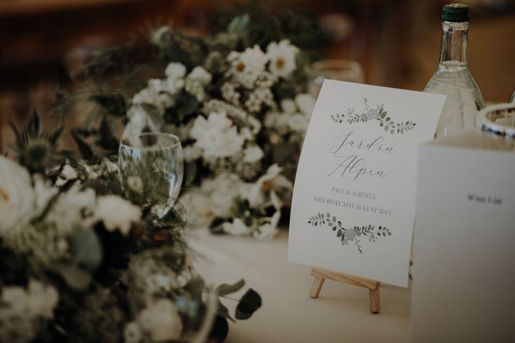 Personalised wedding stationery at Hobbit Hill celebration