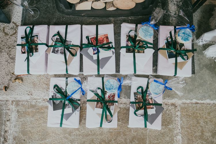 Wedding Gifts with Photograph Tags