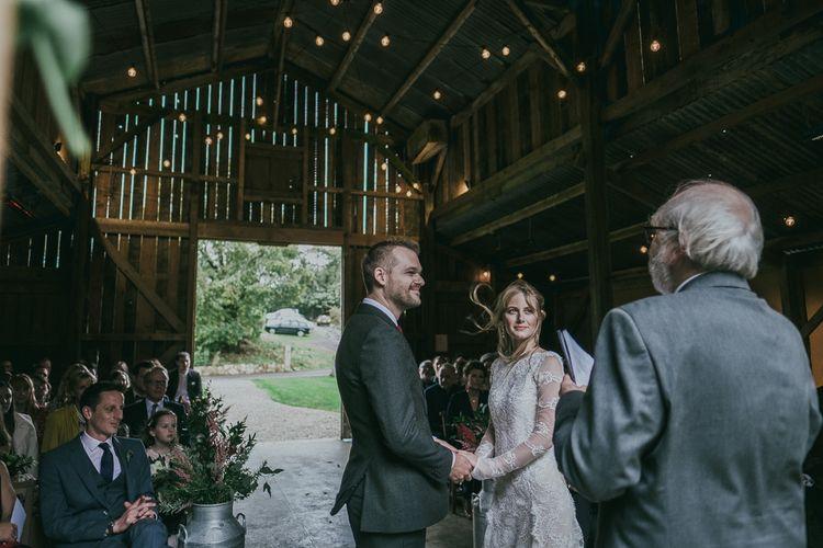 Wedding Ceremony at Nancarrow Farm Barn