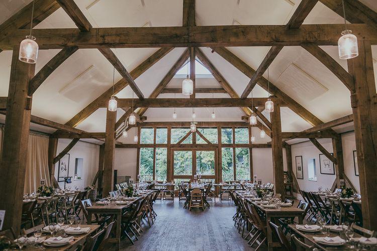 Rustic Barn Reception at Nancarrow Farm Wedding Venue