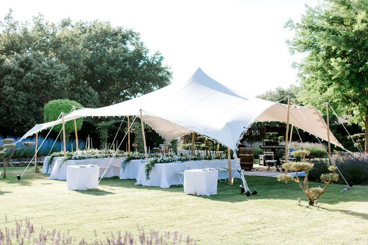 Outdoor Stretch Tent Marquee Reception