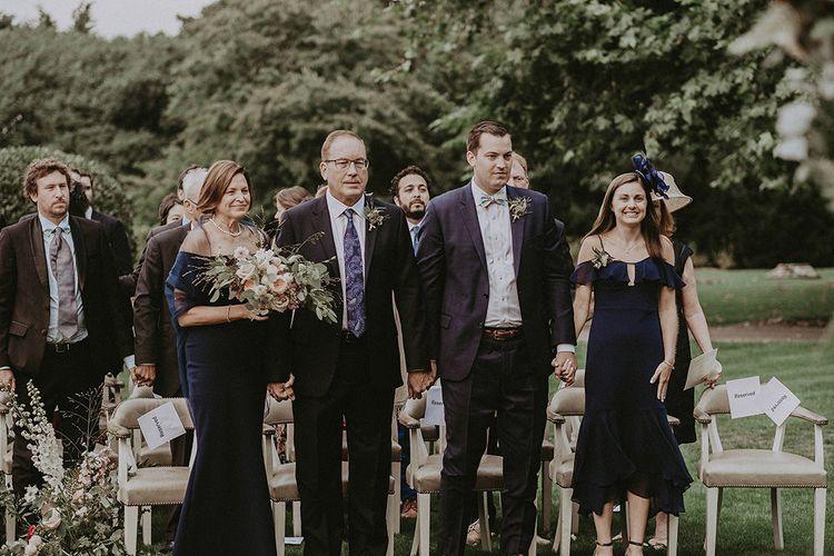 Bride's Family at Wedding Ceremony