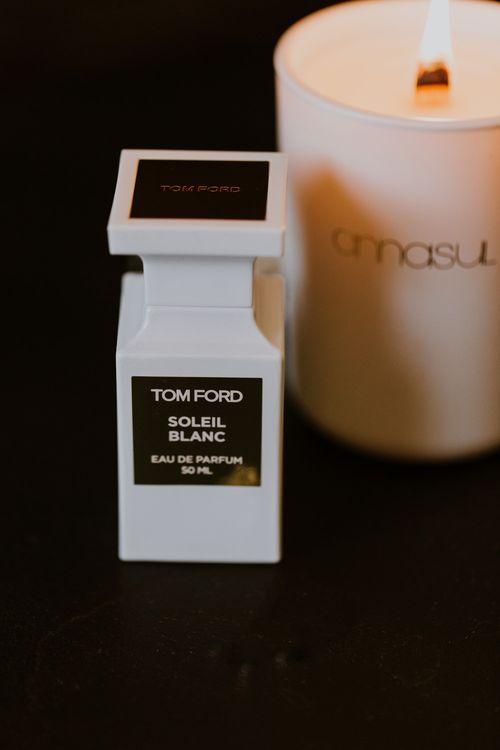 Tom Ford Perfume | Rustic Cripps Barn Winter Wedding | Alexandra Jane Photography