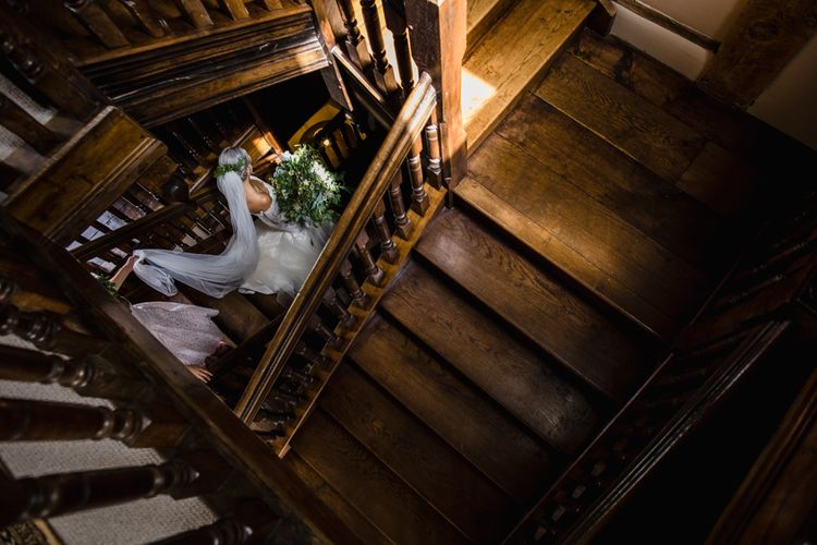 Dewsall Court Wedding With Bride In Fishtail Gown 'Adele' By Augusta Jones With Images From Chris Barber Photography And Film From Blooming Lovely Films