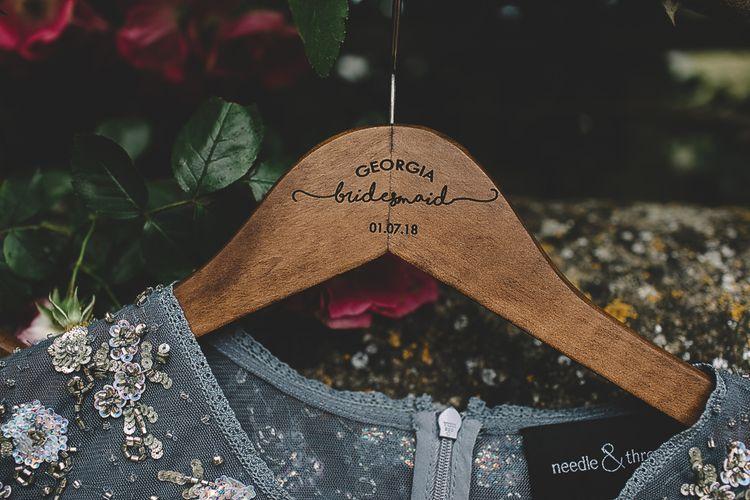Personalised Bridesmaid Dress Hanger