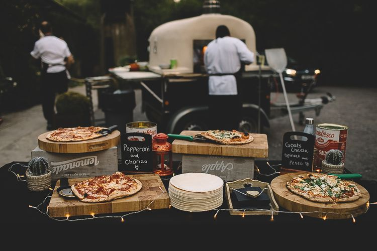 Evening Snack - Pizza Station