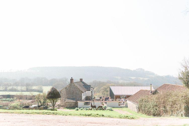 River Cottage Rural Wedding Venue in Dorset