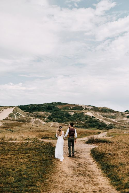 Jersey wedding with rustic decor