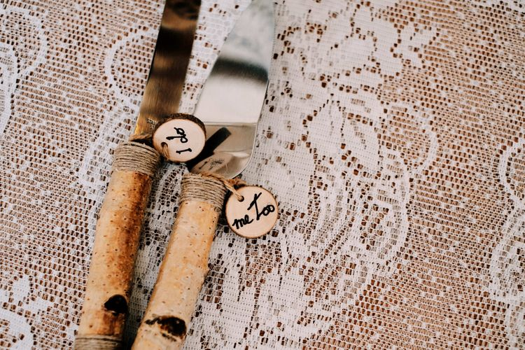 Rustic wedding decor with globe guest book