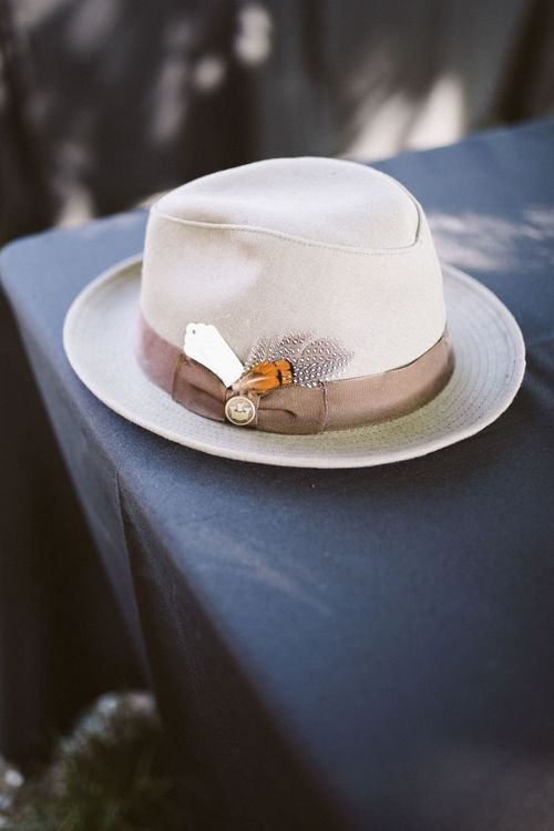 Fedora Hat with Feather Detail