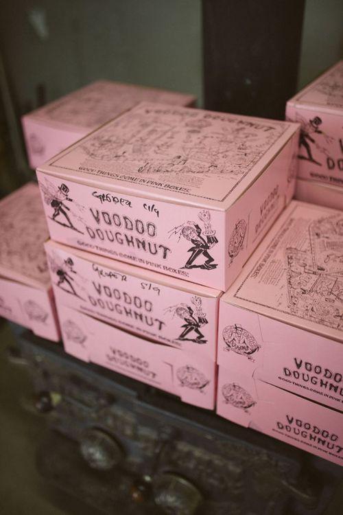 VooDoo Doughnuts Wedding Treats