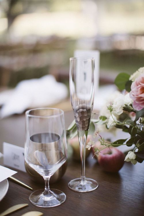 Champagne Flutes Wedding Glasses
