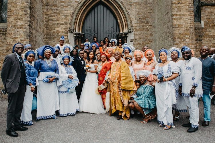 African wedding guest picture