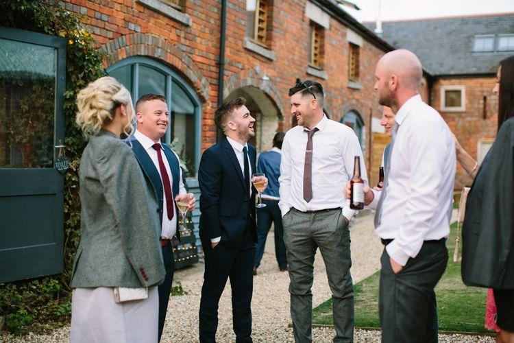 Wedding Guests | DIY Country Wedding at Warborne Farm, Lymington | Camilla Arnhold Photography