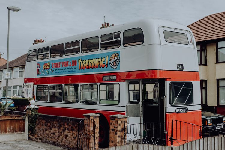 Retro Double Decker Wedding Bus