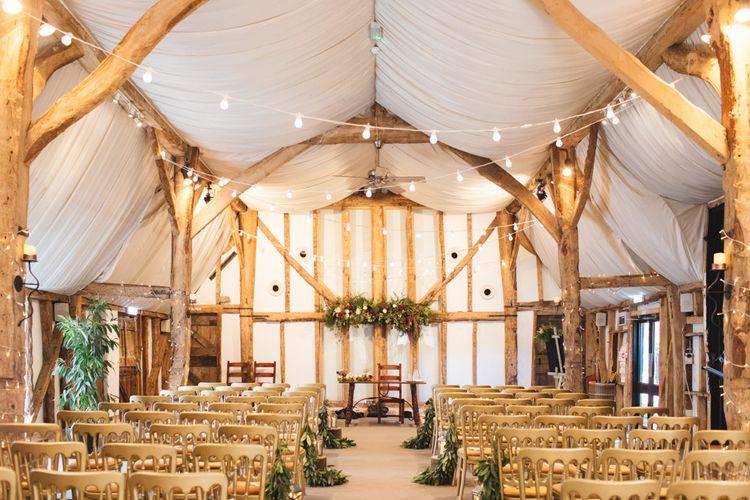 Barn Wedding Venue at South Farm for Rustic Wedding