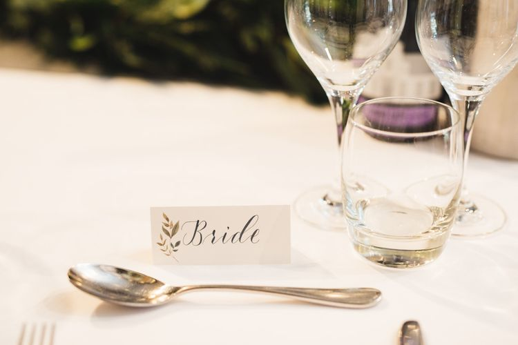 Table Place Names