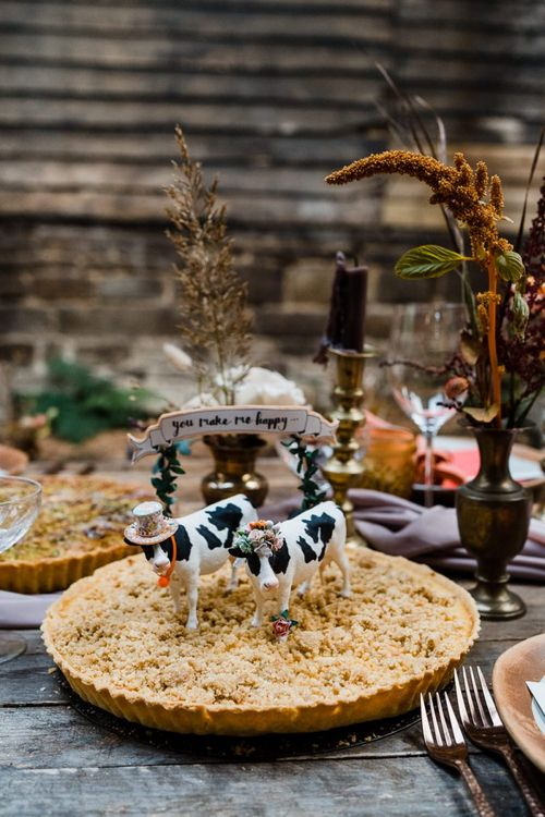 Cow Animal Cake Toppers