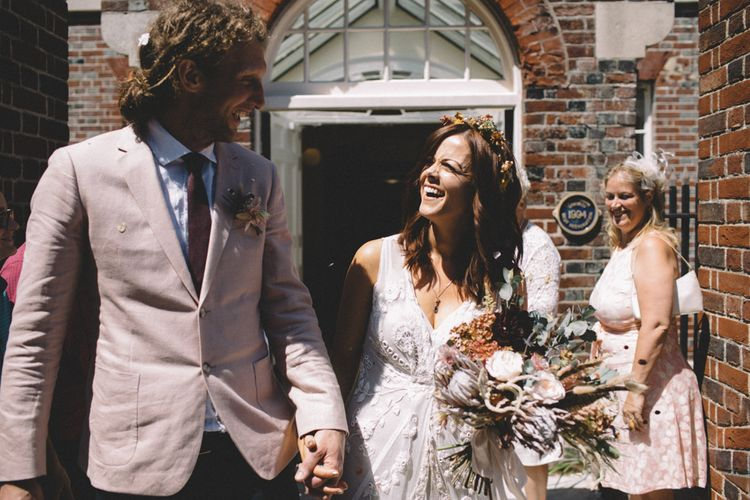 Portsmouth Registry Office Wedding // Image By Carrie Lavers Photography
