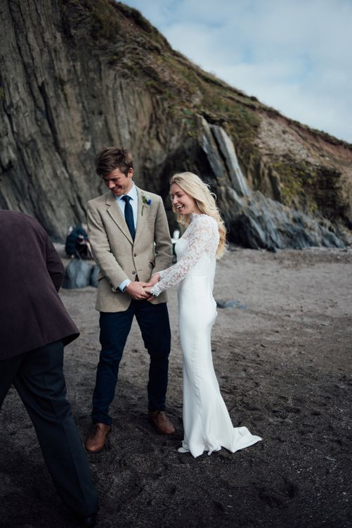 U.K intimate beach weddings