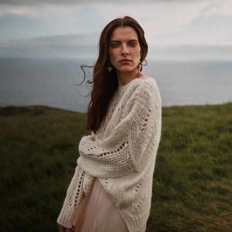 Bride In Knitted Jumper Styled By Beatnik Bride With Images From Benjamin Wheeler Photography