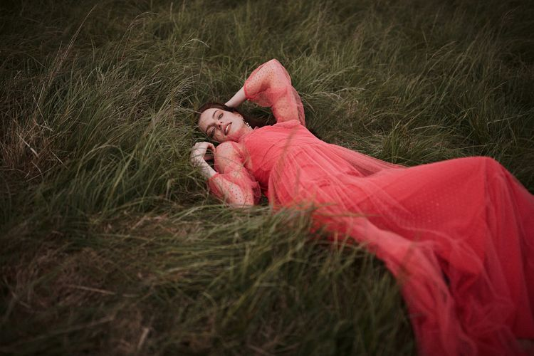 Red Polka Dot Dress Styled By Beatnik Bride With Images From Benjamin Wheeler Photography