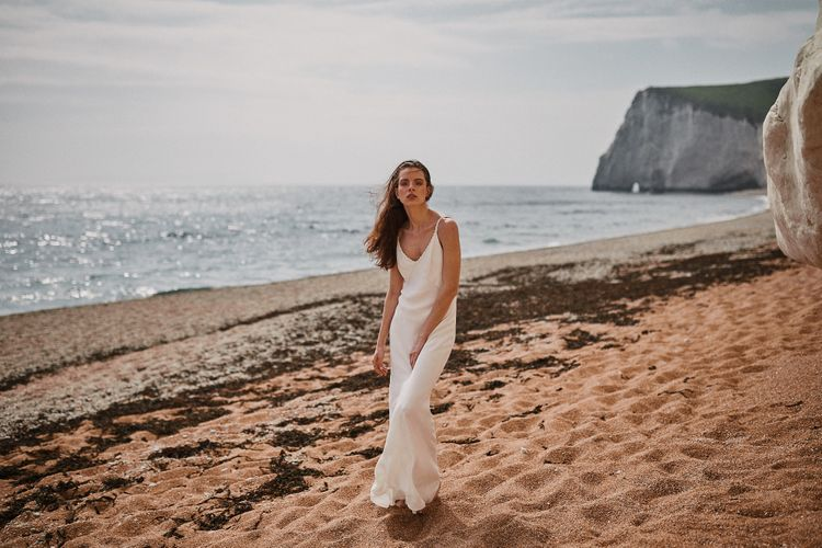 Bridal Slip Dress Styled By Beatnik Bride With Images From Benjamin Wheeler Photography