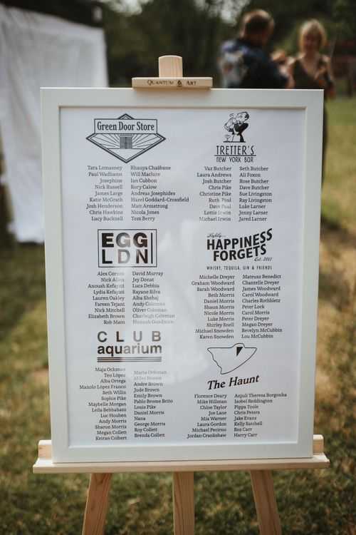 Wedding Signage // James Frost Photography // DIY Village Hall Wedding Lilley // C of E Wedding Ceremony // Vinyl Record Wedding Favours