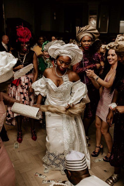 Traditional Nigerian money dance
