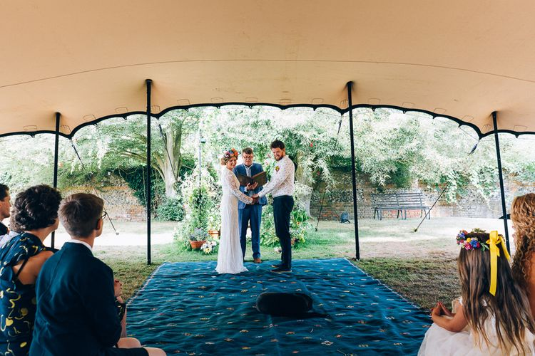 Humanist Wedding Ceremony // Images By Casey Avenue Photography