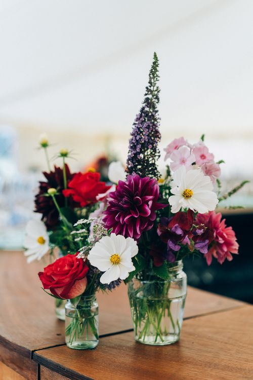 Wildflower Wedding Decor // Images By Casey Avenue Photography