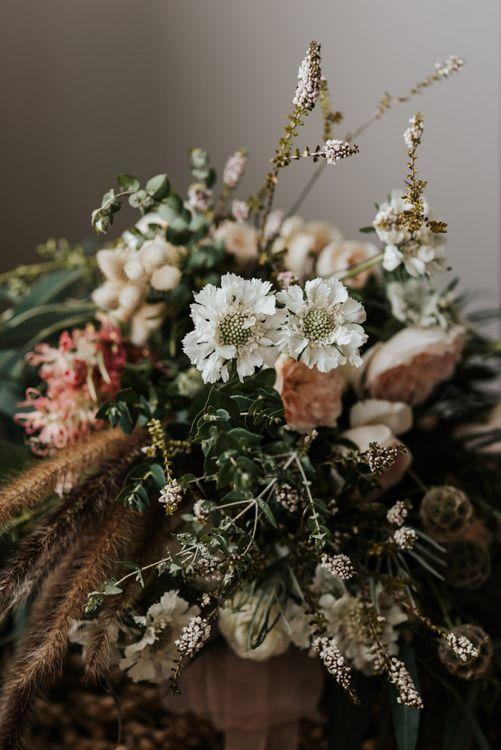 Wild Wedding Flowers, Grasses and Foliage