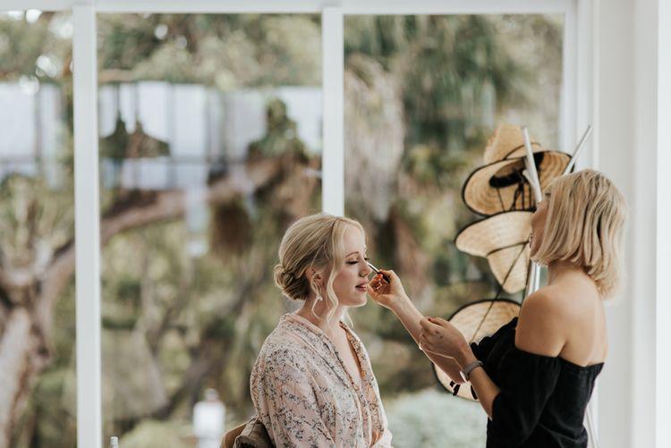 Wedding Morning Bridal Preparations