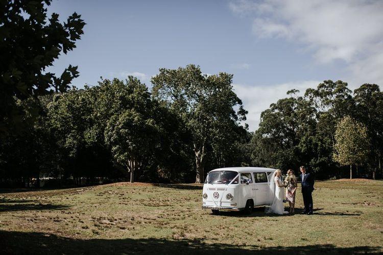 VW Camper Van Wedding Car