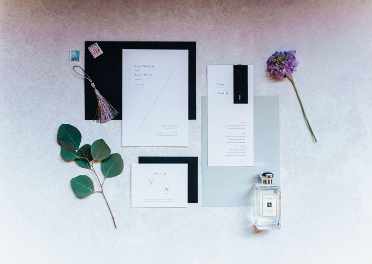 Nat's Paper Studio Wedding Stationery Suite