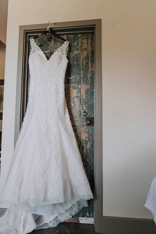 Lace Mori Lee Bridal Gown   Wedding Weekend at West Lexham Manor, Norfolk   Megan Duffield Photography
