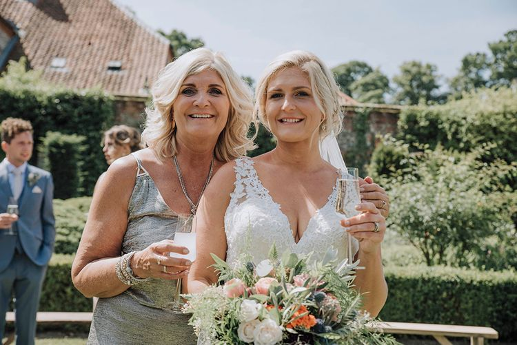 Bride in Mori Lee Wedding Dress   Mother of the Bride    Wedding Weekend at West Lexham Manor, Norfolk   Megan Duffield Photography