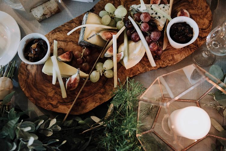 Cheese Board   Wedding Weekend at West Lexham Manor, Norfolk   Megan Duffield Photography