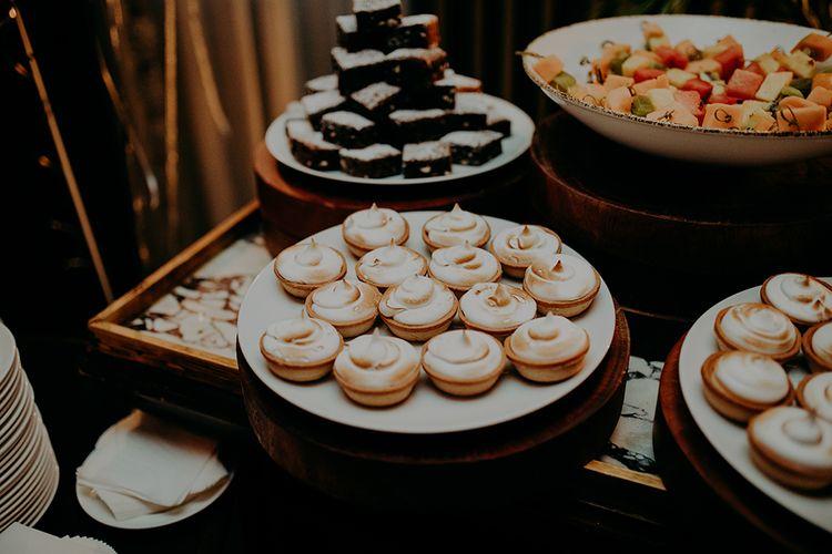 Mini Baked Alaskas' For Dessert Table