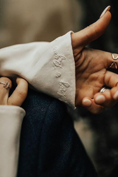 Embroidered Wedding Dress Sleeve