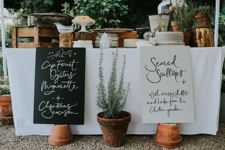 Seafood Station At Wedding