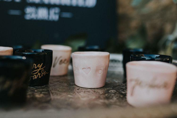 Tea Light Holder Wedding Favours