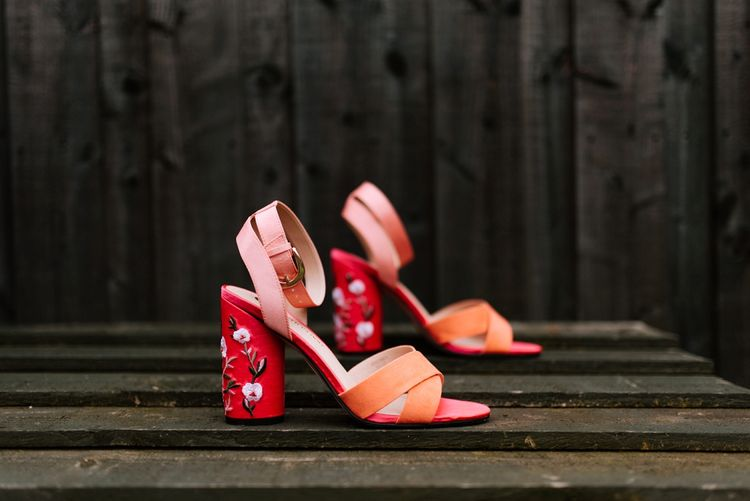 Ricer Island Block Heel Shoes | Fun Stretch Tent Reception on Primary School Field in Sheffield |  Tub of Jelly Photography